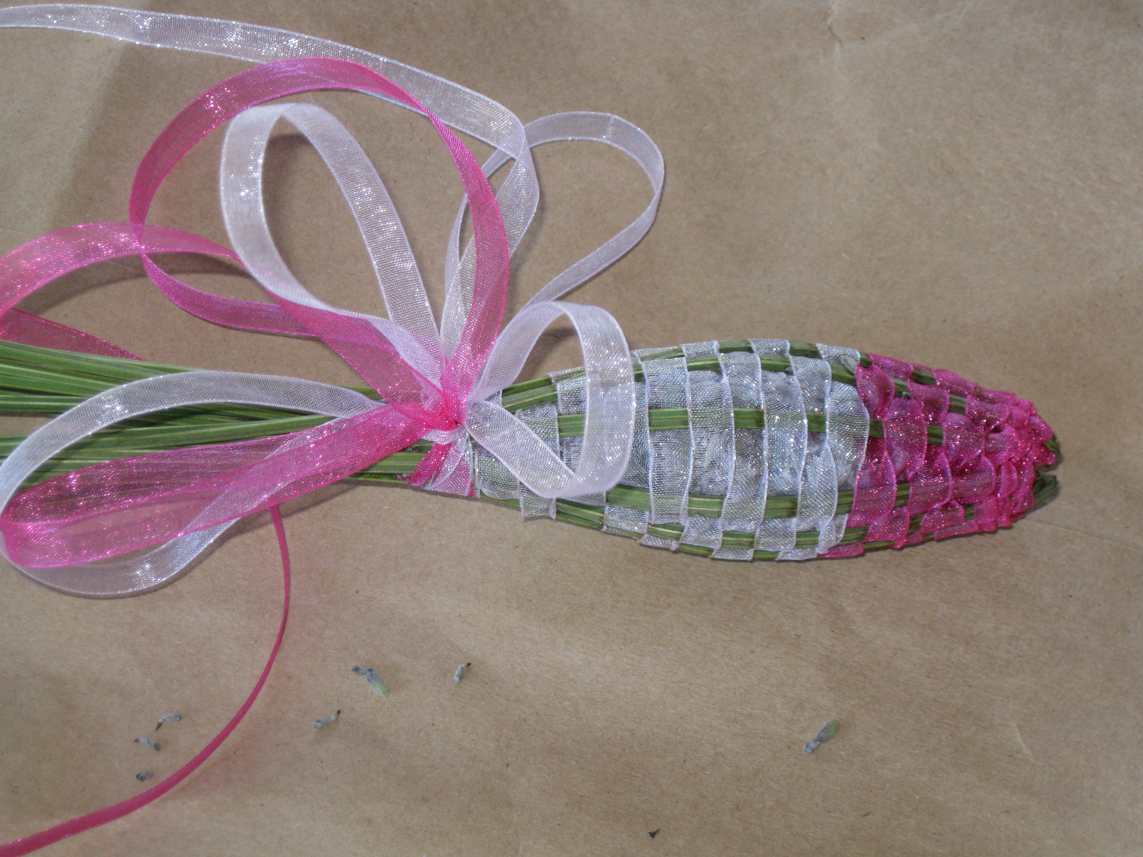 Lavender pink wand