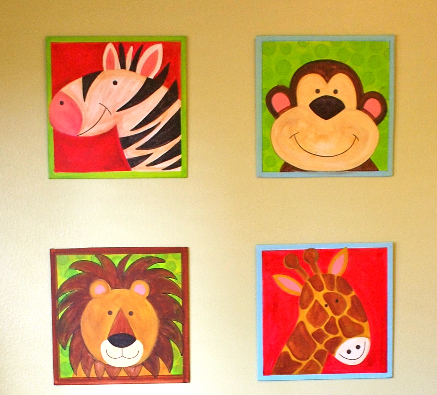 Simple Animal Paintings | www.pixshark.com - Images ...
